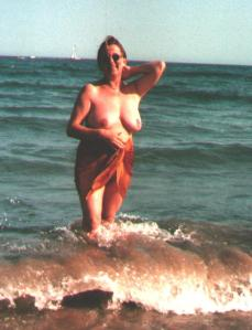 Me at Cap d'Agde nudist village